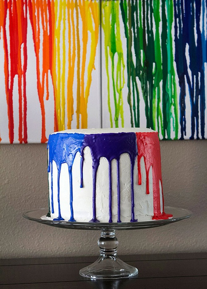 Paint Drip Cake Pretty Cool Holidays Parties Amp Events