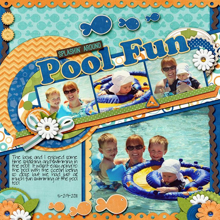 Fun scrapbook layout ideas bing images scrapbook ideas pinterest more scrapbook layouts - Scrapbooking idees pages ...