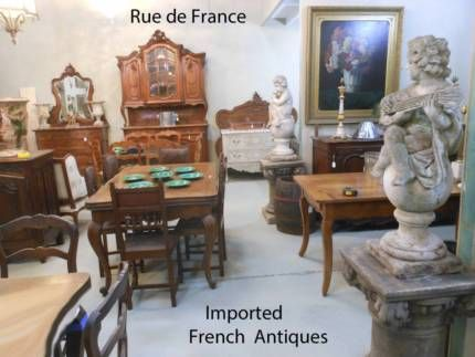 FRENCH ANTIQUES INTERIOR DECORATING ITEMS -- FRENCH VINTAGE