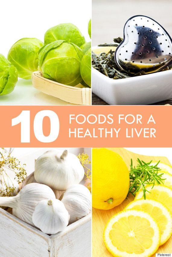 healthy liver foods