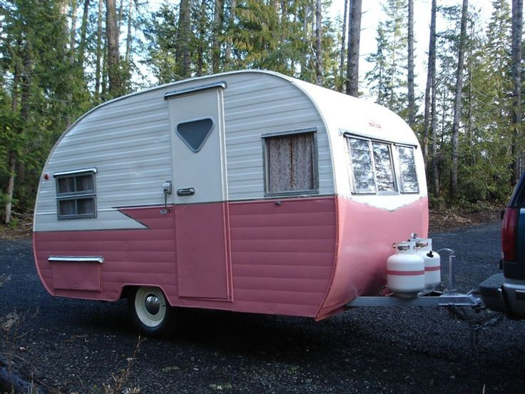 Restored Vintage Travel Trailer