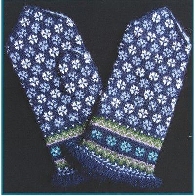 Schoolhouse Press #12 Fringed Sun Mittens in Mittens/Gloves at Webs. Latvian techniques