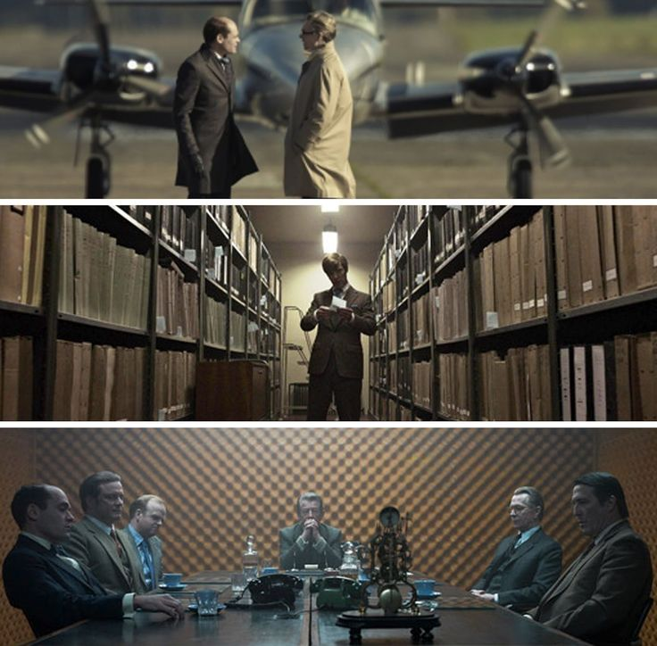Tinker Tailor Soldier Spy - Hoyte van Hoytema (cinematographer). #cinematography #colour