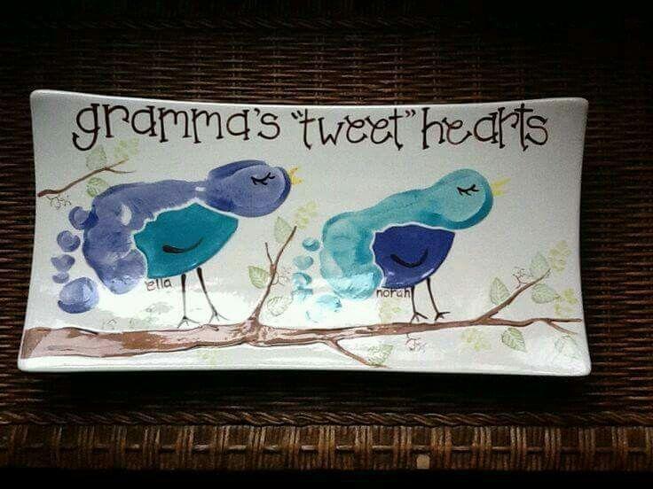 Grandma tweet hearts