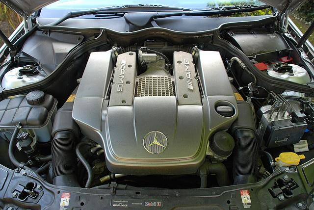 Supercharged V6 Engine - Mercedes C32 AMG