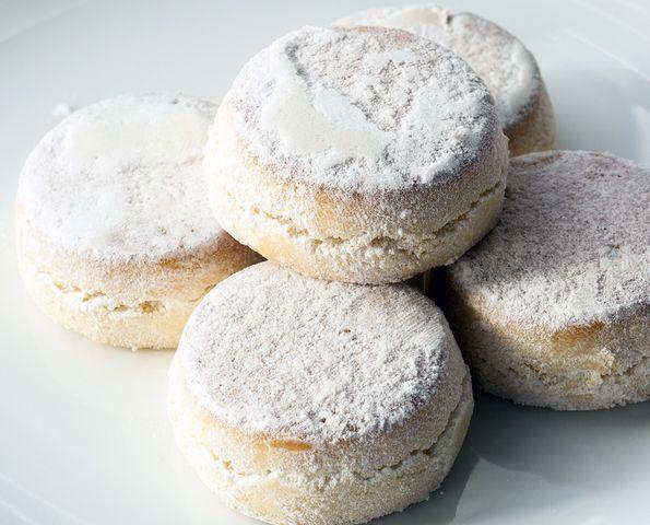 Recipe for almond spanish cookies polvorones