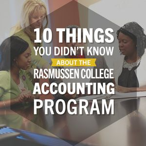 10 Things You Didn't Know About the Rasmussen College Accounting Program
