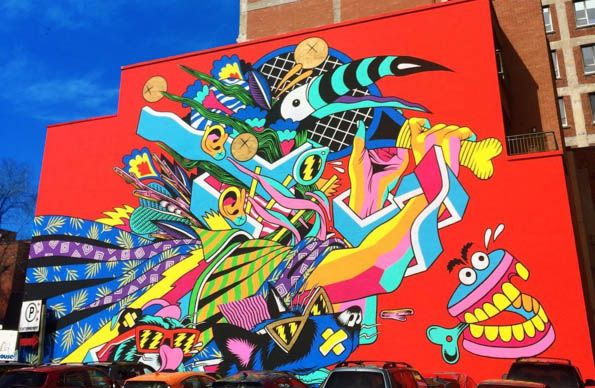 Montreal Ranked #5 Best City In The World For Street Art - http://streetiam.com/montreal-ranked-5-best-city-in-the-world-for-street-art/