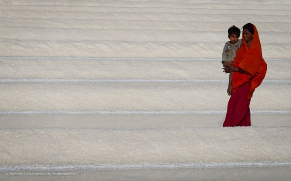 salt workers rann of kutch
