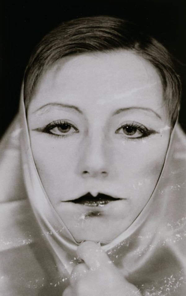 Cindy Sherman, Untitled (self portrait in hommage to Claude Cahun), 1975