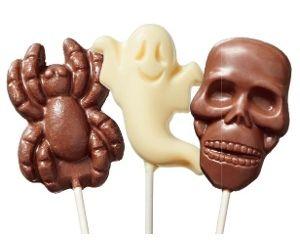 Dairy Fine Halloween Chocolate Pops 25g