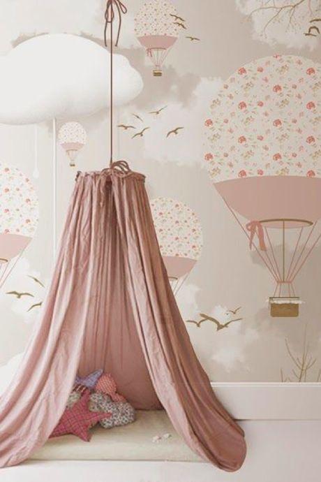 Un ciel de lit pour une chambre bohème et cosy