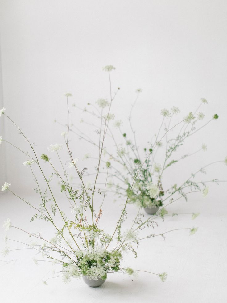 Feminine, Minimal Wedding Floral Design