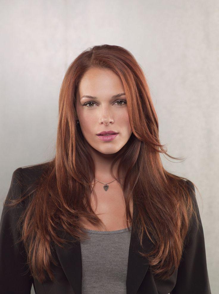 Grace Van Pelt on The Mentalist... love her and her hair!!