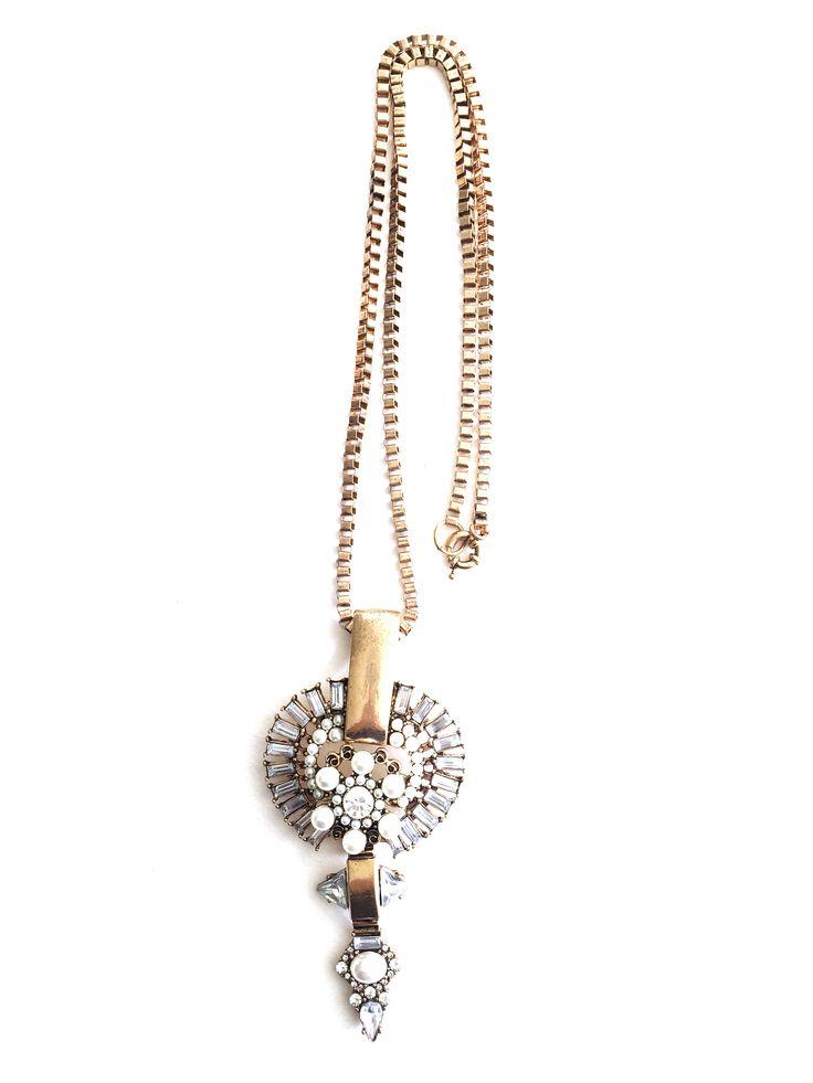 RICCARDA Necklace --------------- SHOP :: www.sparklyfix.com