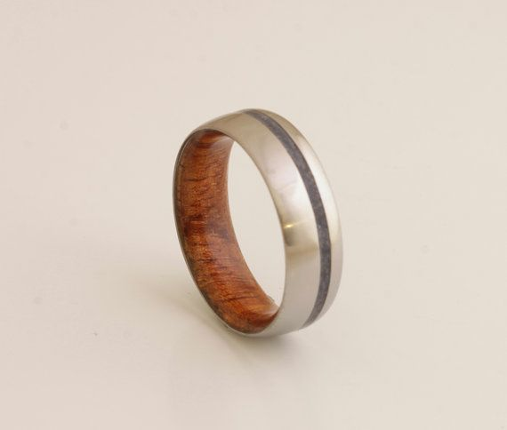 20 best Metal Wooden Rings images on Pinterest Wood rings Wooden