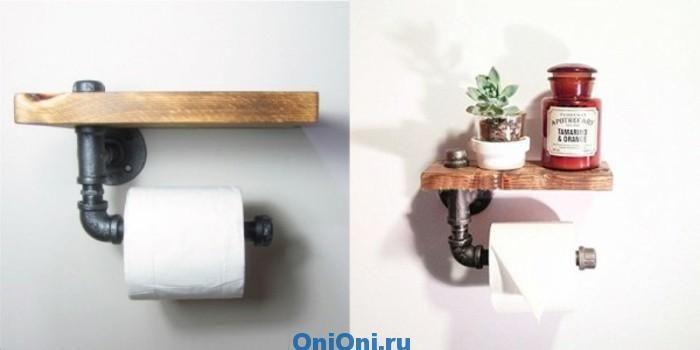 держатель для туалетной бумаги мастер класс