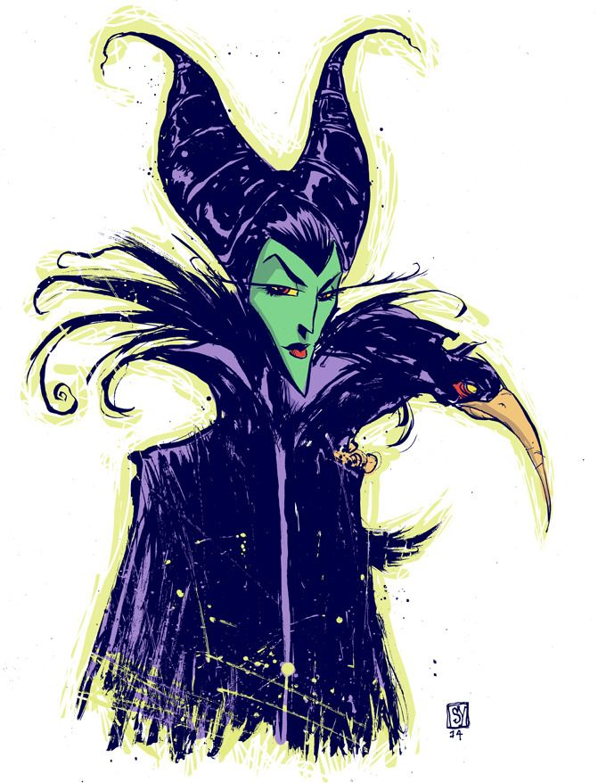Awesome Art Picks: Maleficent, Batman, Cyclops, and More - Comic Vine