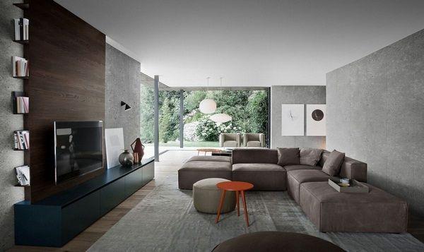 quelles couleurs mur meubles maillot de wengé salon couleur viseur optique Buffet noir