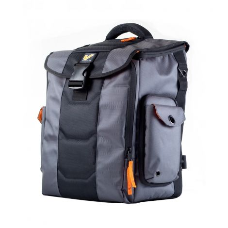 """Maximum cargo versatility. The largest multi-use cargo bag from our Venue Series featuring a voluminous main compartment exclusive """"locker door"""" side access removable soft shelves and modular add-ons to organize all your gadgets."""