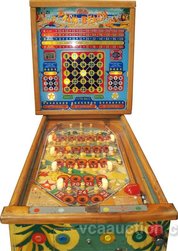 vintage bingo machine