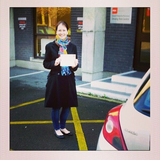 Congratulations Lauraine who passed her test today at the Rathgar test centre with the #rsadrivingschool http://www.rsadrivingschool.ie