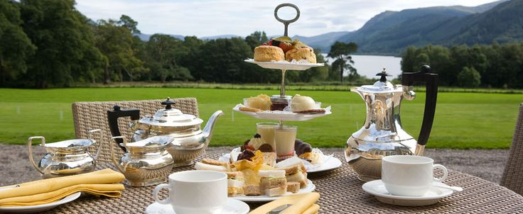 the nicest afternoon tea I have found in the lake district