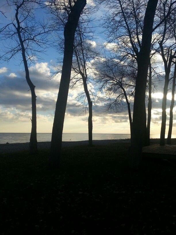 Lake Ontario...Newcastle view