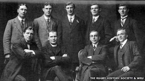 "The 'terrible eight' - Wales v Ireland: Rugby's 'most violent game' re-told | looking back at 13 March 1914 - and a clash overshadowed by a looming world war: ""It's the eve of Wales' last international before the outbreak of the First World War. The Welsh pack were already dubbed the Terrible Eight. And they were challenged all the way by their Ireland counterparts."