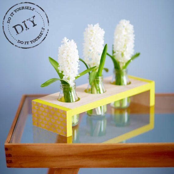 Urban Crafter Scallop Print Table Vase DIY Kit