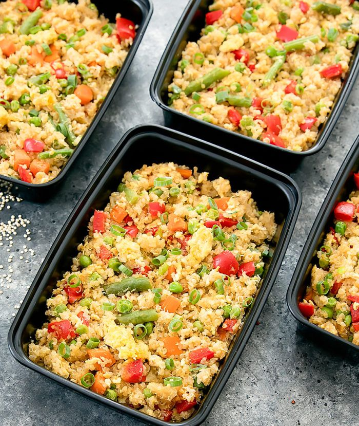 Quinoa Fried Rice Meal Prep