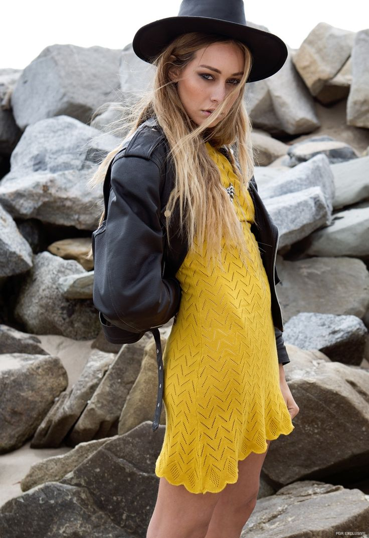 Cait wears Dress For Love and Lemons, Jewelry Vanessa Mooney