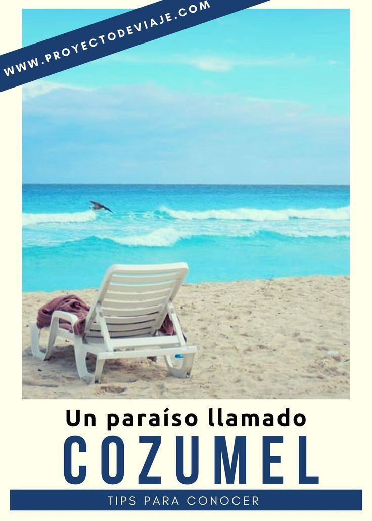 Cozumel En El Caribe Mexicano Proyecto De Viaje Cozumel Viajes En Mexico Caribe