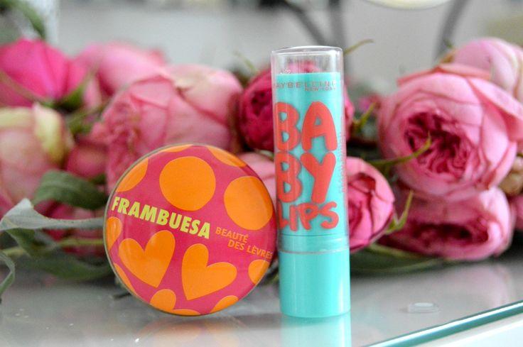 Baby lips Maybelline & Agatha Ruiz de la Prada lip balm