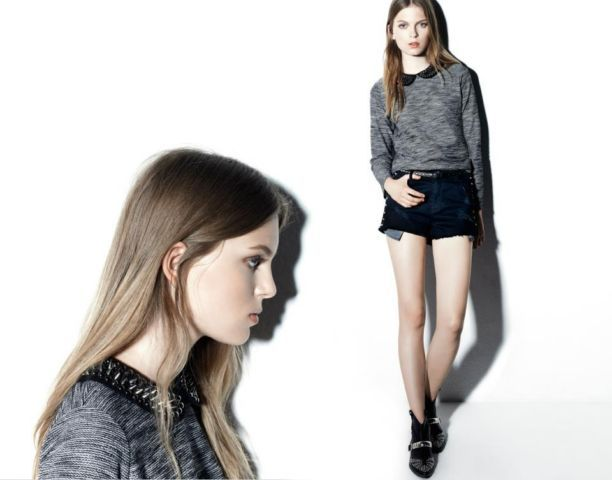 Pull & Bear look book new collection for girls