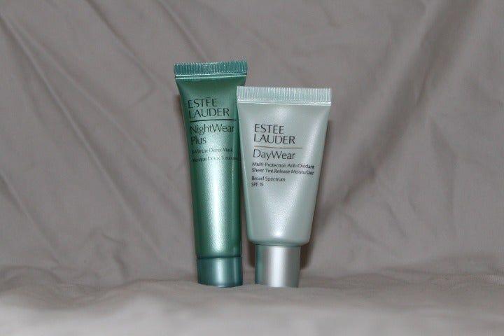 Nightwear Plus Detox Mask 5 Oz Retail Around 12 Daywear Sheer Tint Moisturizer 5 Oz With Spf Retail 24 Micro Es Detox Mask Eye Makeup Remover Estee