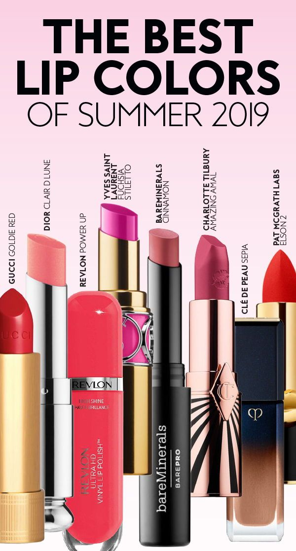 The best #lip colors for summer 2019. #lipshades #lipcolors #lipstick #summermak…