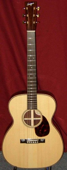 Here's my ultimate top five example of extremely fine small body acoustic guitars for extremely serious amateurs or professionals.  These instruments are anything but cheap, and they aren't inexpensive either.