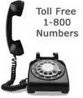 Toll free numbers like 1800 number and 800 number could be really helpful. If your company or firm possesses a toll free number, the customers may be attracted as they would have their grievances solved by calling on this number.
