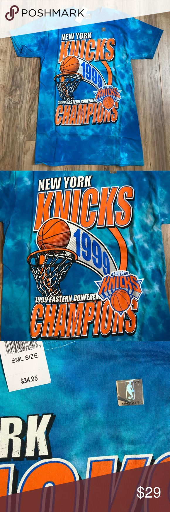 NBA New York knicks nwt unisex tee NWT unisex not adidas brand, non branded NBA licensed apparel Adidas Shirts Tees - Short Sleeve