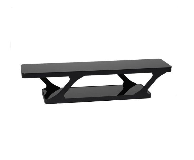 Подставка под телевизор - железо - черный, 180х50х42 см   Westwing Интерьер & Дизайн