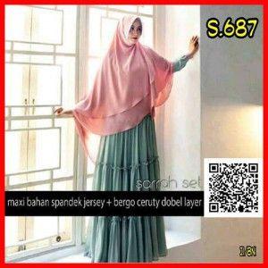Jual Baju Gamis Muslim Terbaru Busui Murah