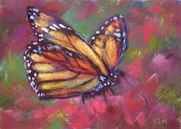 Image result for monarch butterfly paintings
