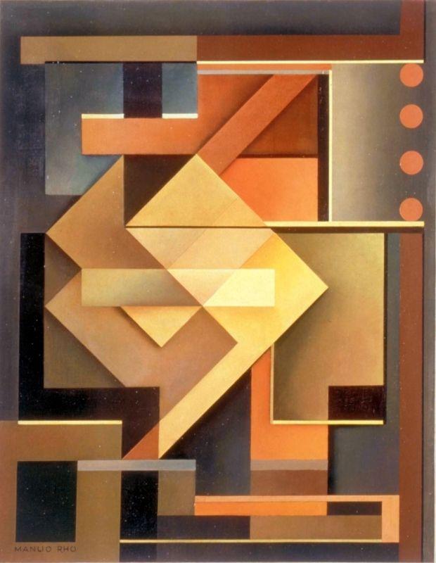 [Manlio Rho] Composizione, 1950