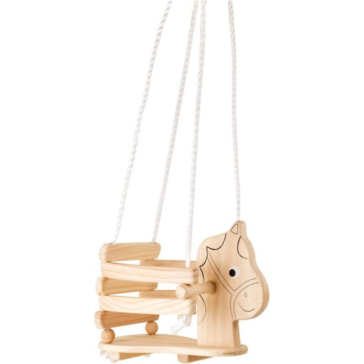 LEGLER Kinderschommel Paard, hout pinkorblue.be - Gratis levering vanaf €20,- ♥ Ruim 30.000 producten online ♥ Nu eenvoudig online shoppen!