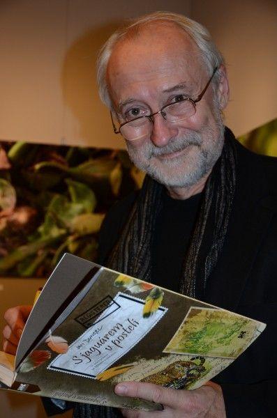 """Jan Dungel and his book """" S jaguárem v posteli"""""""