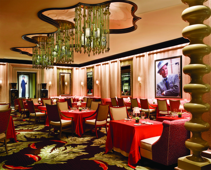 Sinatra Restaurant at the Wynn, Las Vegas...this place is sooo beautiful, listening to Sinatra...oh, and the food's great too!