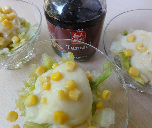 MaisInsaPatata #Mais #Insalata #Patata #Contorno #Vegan