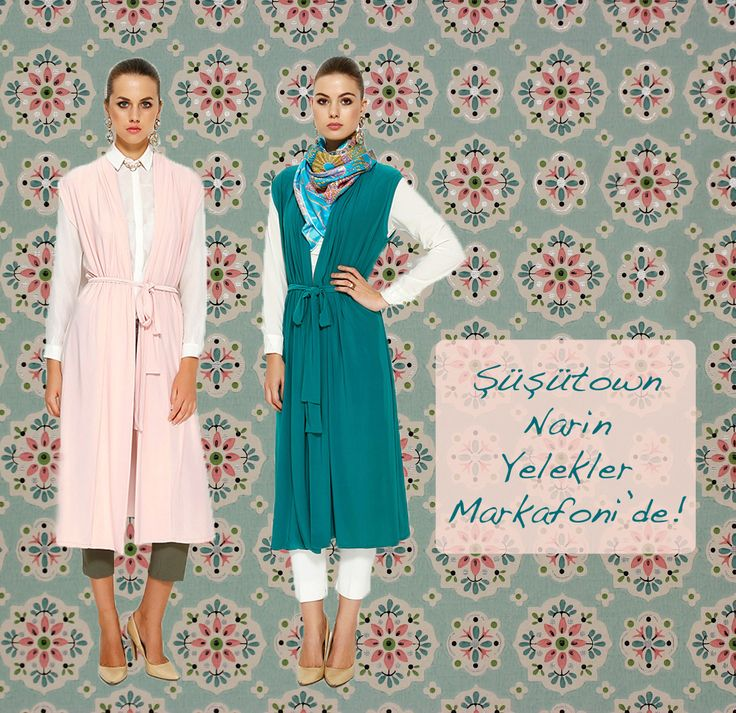 Şüşütown Narin Yelek - Waist hijab style www.susutown.com