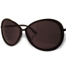 Designer Luxury Brand, Tom Ford Clothilde Black Sunglasses